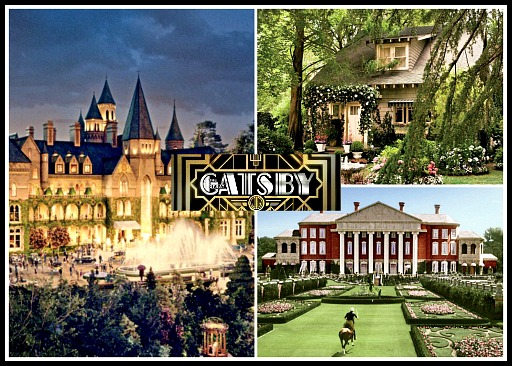 Great Gatsby movie 2013 houses