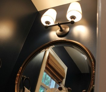 Looking Up: Melissa's Powder Room Makeover