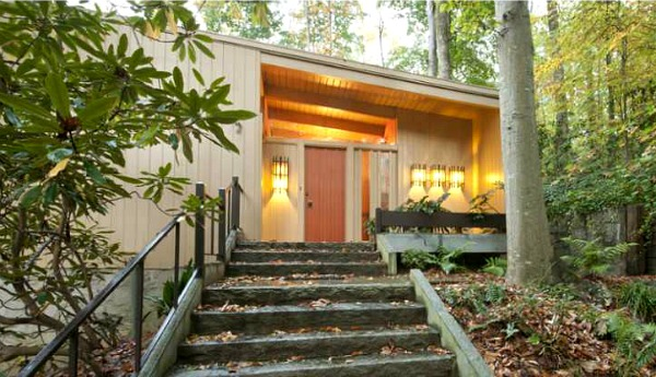 A nature lover 39 s mid century modern ranch in atlanta Modern houses in atlanta