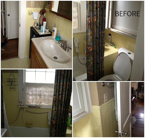 Neal's bathroom BEFORE