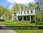 farmhouse from 1813 in New Jersey