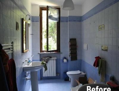 Stefania's Bathroom Remodel in Italy