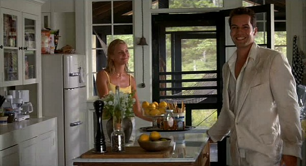 Cameron Diaz and Billy Zane Head Above Water