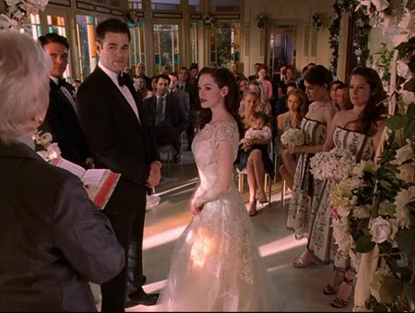 Charmed Halliwell Manor Paige's wedding solarium