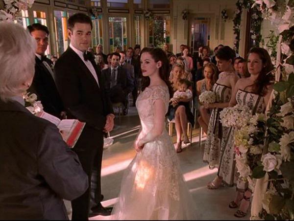 Charmed Halliwell Manor Paige's wedding solarium