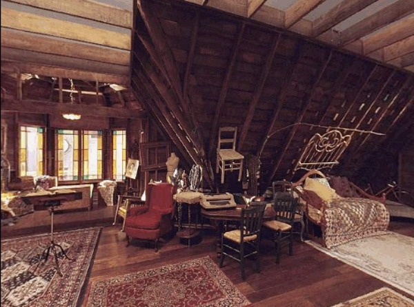 Charmed Halliwell Manor attic 2