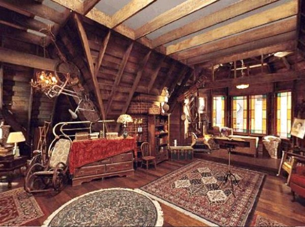 Charmed Halliwell Manor attic