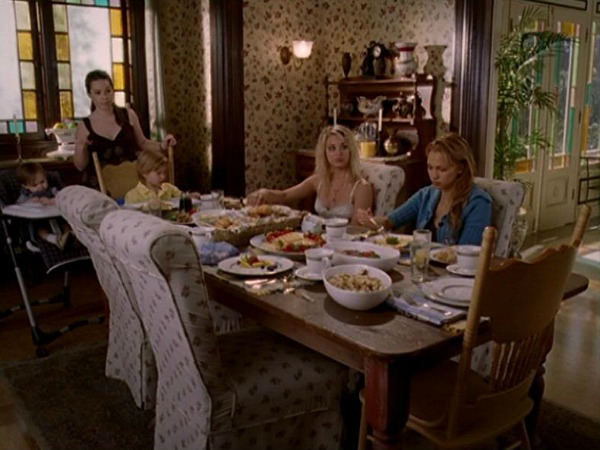 Charmed Halliwell Manor dining room 6