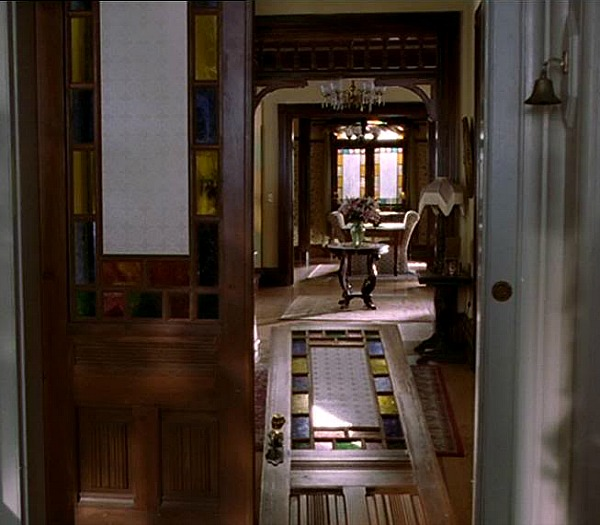 Charmed Halliwell Manor front entry 2