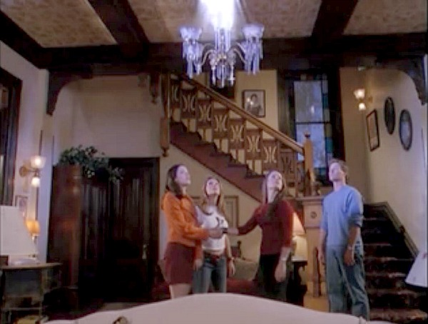 Charmed Halliwell Manor staircase 3