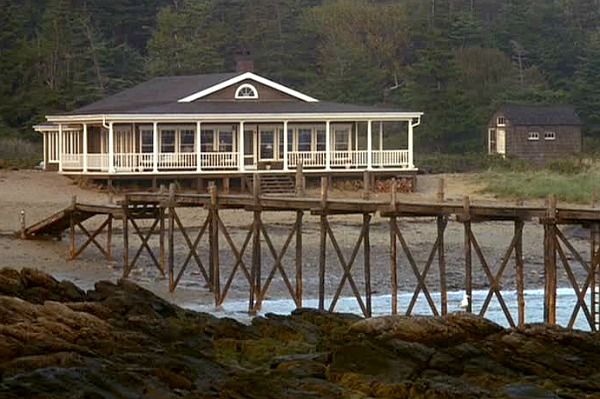 Maine Beach House Cottage Head Above Water Movie 12