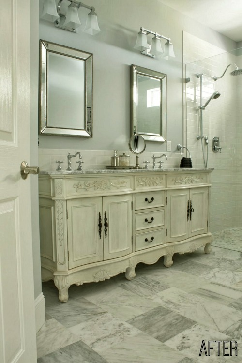 Penny Comforts Of Home Master Bath AFTER Remodel