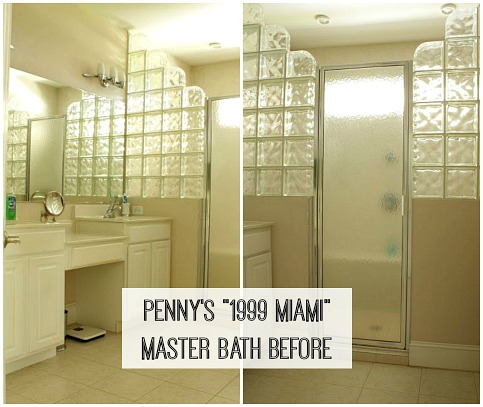 Quot 1990s Miami Quot No More Penny S Master Bath Makeover