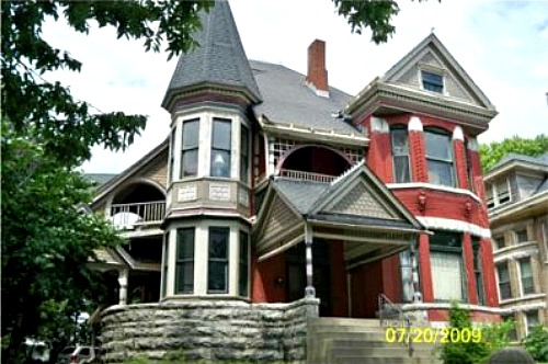 A queen anne victorian designed in 1885 but built in 2002 for Queen anne victorian house