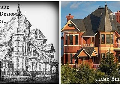 A Queen Anne Victorian Designed in 1885, Built in 2002