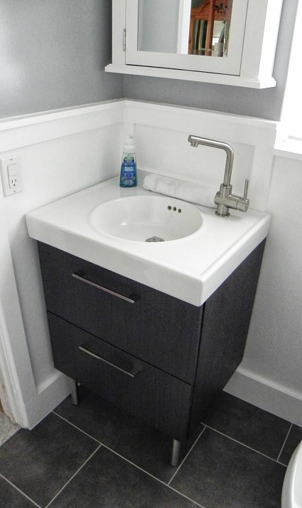 bathroom sink makeover before amp after renato s renovated bathroom hooked on houses 11358