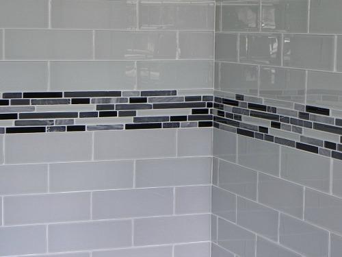 new shower tile
