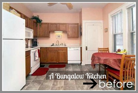 A Bungalow kitchen BEFORE