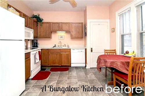 Chelsea's Bungalow kitchen BEFORE