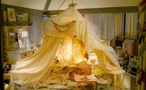 Christmas movie mystery tent