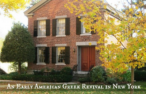 Early American Greek Revival 238-Chestnut-Ridge NY