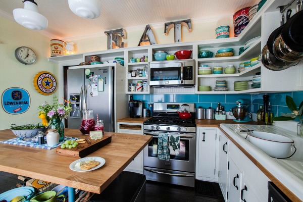 Farm Fresh Therapy bungalow kitchen AFTER 2