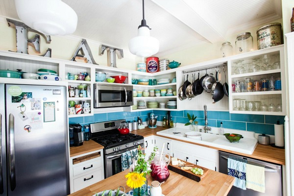 A Bungalow Kitchen In Columbus Gets A New Old Look