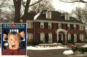 Home Alone movie house Winnetka Illinois