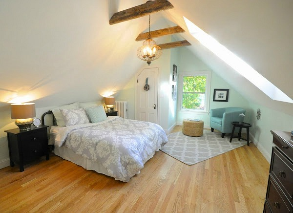 New Master in former attic space