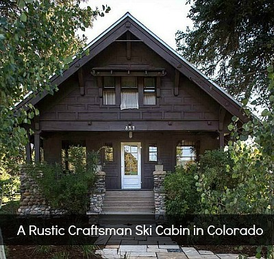 Rustic Craftsman Steamboat Springs Werner House