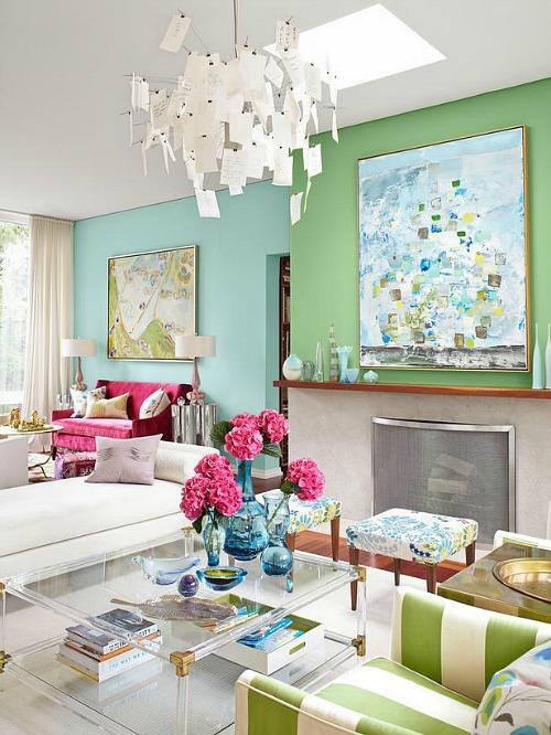 Sarah Richardson's colorful Toronto house HGTV (2)