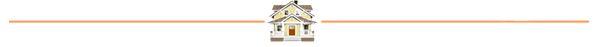 orange line with Craftsman house