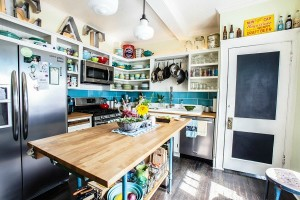 Farm Fresh Therapy bungalow kitchen AFTER