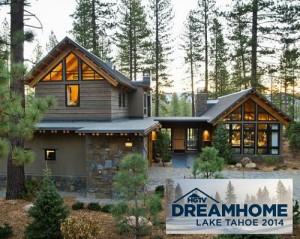 HGTV Dream Home 2014 in Lake Tahoe with logo inset