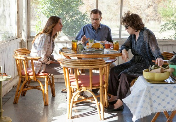 Julia Roberts Meryl Streep back porch August Osage Cty