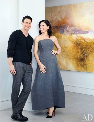 julianna margulies at home in manhattan hooked on houses