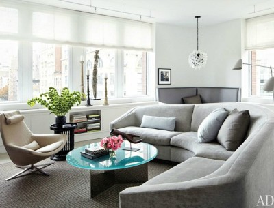 Julianna Margulies apartment in Architectural Digest