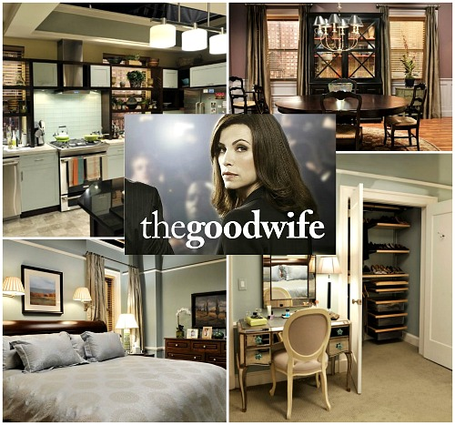 The Good Wife TV show sets Alicia's apartment