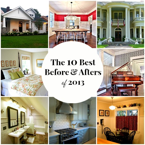 Home Makeovers the top 10 home makeovers of 2013 - hooked on houses