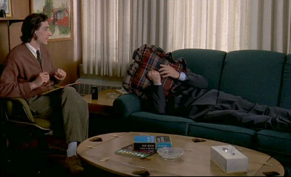 coffee table in Groundhog day movie