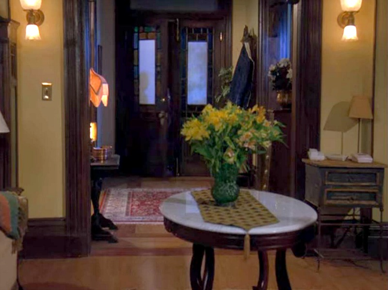 Charmed front doors and entry hall screenshot