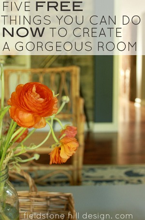 Five-free-things-you-can-do-now-to-create-a-gorgeous-room-FieldstoneHillDesign