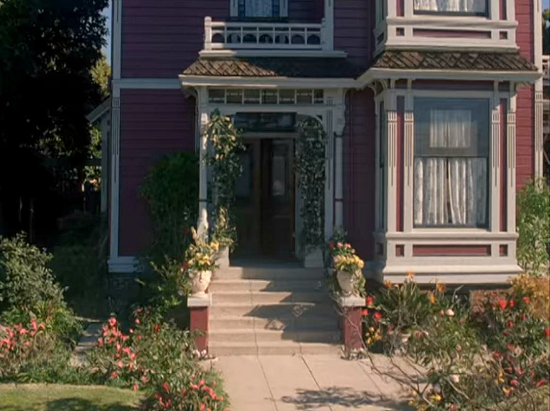 Front Doors of Charmed House Halliwell Manor