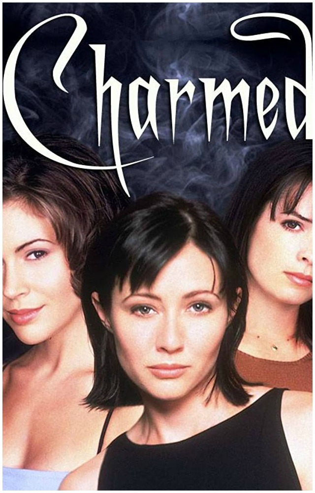 Original Charmed TV show WB poster cropped