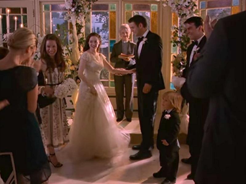 Paige's wedding in the Solarium on Charmed Season 8