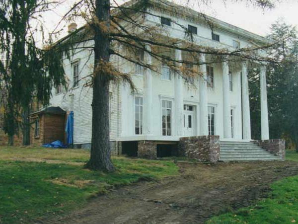 Saxton Hall restored Greek Revival NY BEFORE