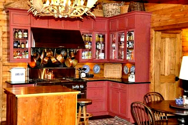 Jack Creek Ranch Ennis Montana kitchen