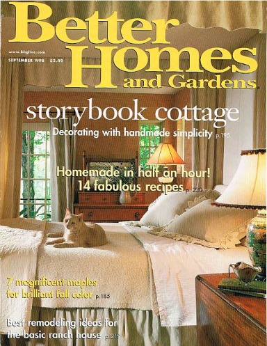 Lark Upson's Vermont Cottage in Better Homes and Gardens 1998