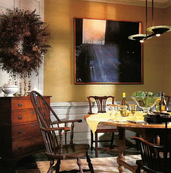 Marshfield Vermont cottage dining room in BHG (1)