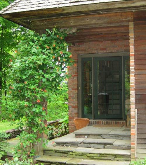 Marshfield Vermont cottage front door